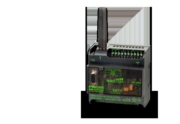 MIRO GSM 通過發送信息控制系統